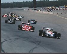 AL UNSER SR PANCHO CARTER DANNY ONGASIS DICKSON POCONO INDY 500 8 X 10 PHOTO  4
