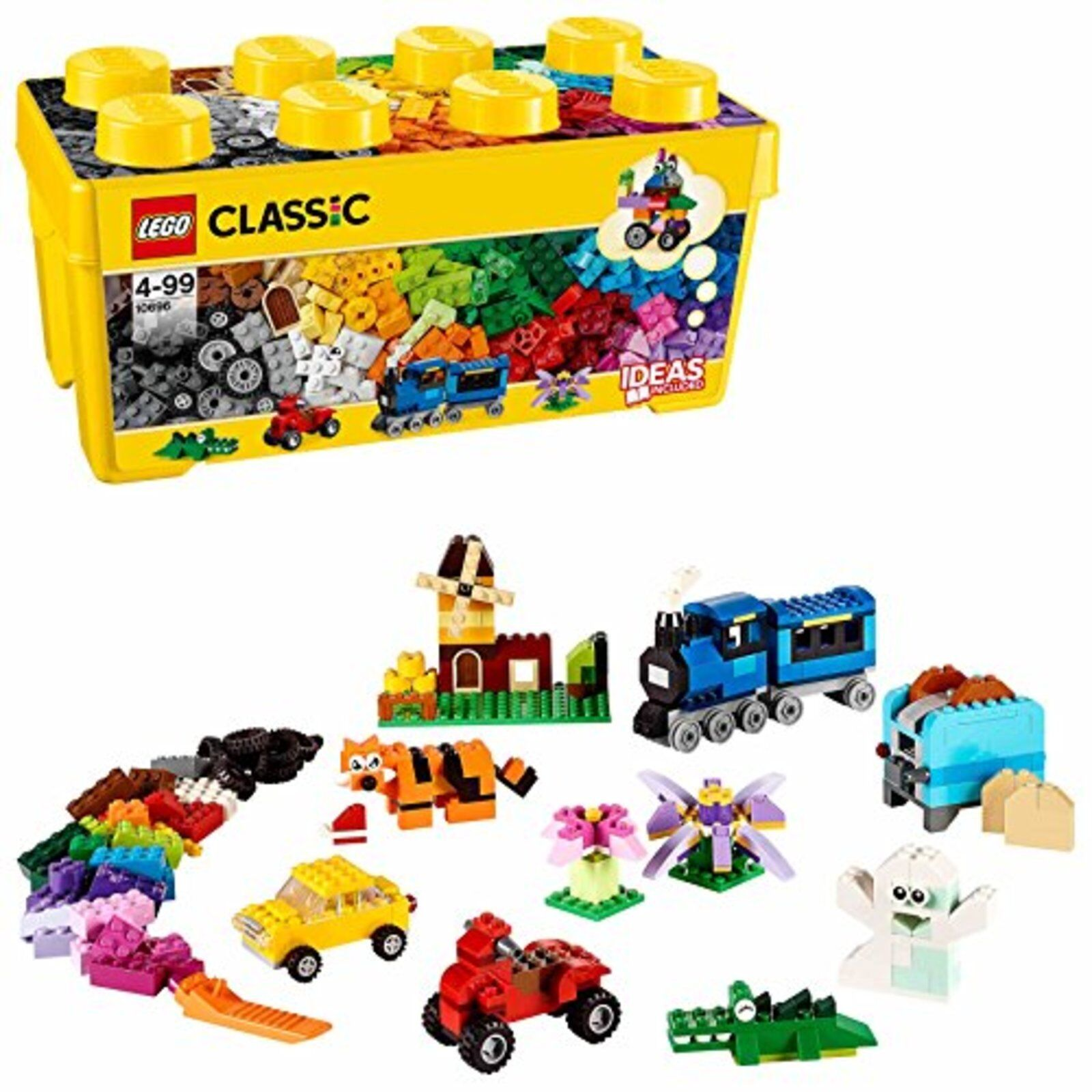 Lego Classique Jaune Idée Boîte  Plus    10696 Livraison Gratuite avec Suivi    prix bas tous les jours