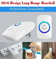 2016 Wireless Home Door Bell Chime Doorbell / Emergeny Panic Button - 36 Melody
