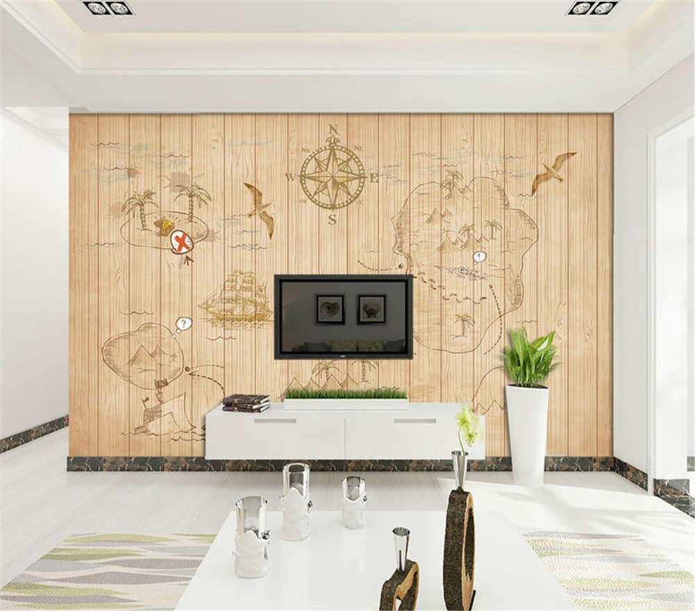 Plain Classic Design 3D Full Wall Mural Photo Wallpaper Printing Home Kids Decor