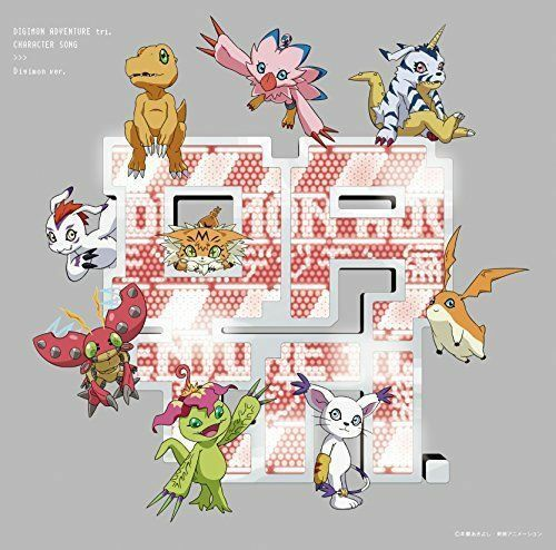 OST-DIGIMON ADVENTURE TRI. CHARACTER SONG DEGIMON HEN-JAPAN CD+BOOK Ltd/Ed H70