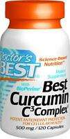 Best Curcumin C3 Complex with BioPerine, 500mg, 120 capsules, Doctor's Best