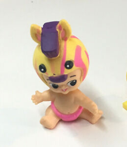 collectible figure TWOZIES NEON Ultra RARE  ZAK !! makers of shopkins!