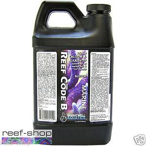 Brightwell-Reef-Code-B-2-Liter-Alkalinity-Buffer-Coral-Supplement-Free-USA-Ship