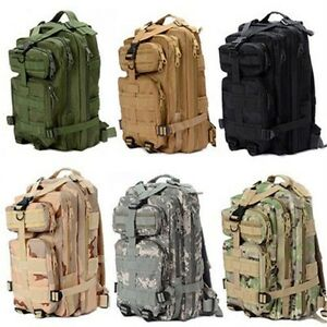 24L-Army-Molle-3-Day-Pack-3P-Assault-Tactical-Military-Camping-Backpack-Bag