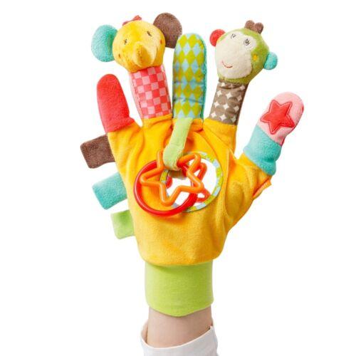 Fehn Safari Spielhandschuh Fingerpuppen Safari NEU