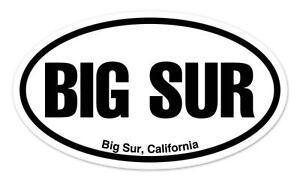 """PB Pismo Beach CA California Oval car window bumper sticker decal 5/"""" x 3/"""""""