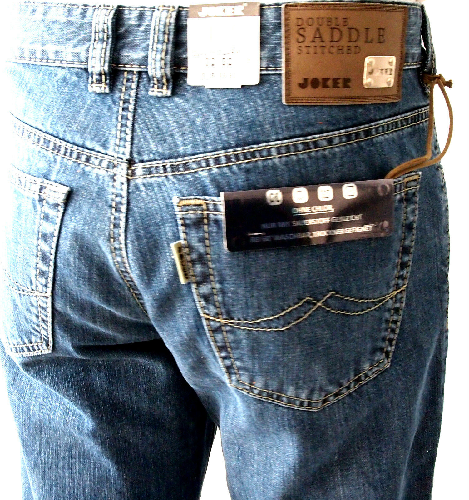 Joker Jeans 2242 55 Clark Stonewash W31 32 33 34 36 38 40 42