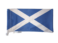 Saltire -- Scotland Flag -  St Andrews - Microfiber Bag - Fits Oakley Sunglasses