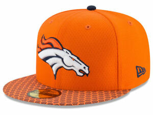 competitive price 9466d 826c0 Image is loading New-Era-2017-Denver-Broncos-59Fifty-Fitted-Hat-