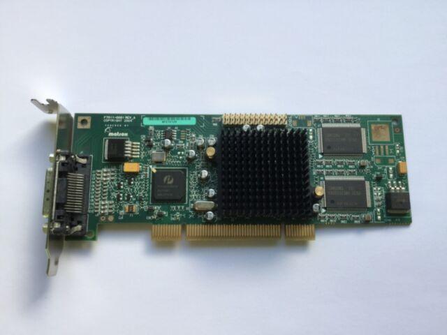 Matrox Dual Moniteur SFF / Bas Profil G550 32MB PCI G55MDDAP32DBF Carte