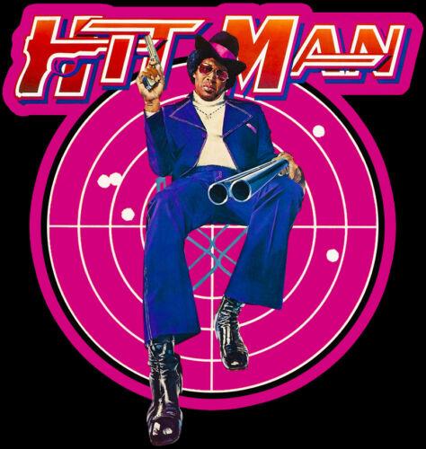 70/'s Blaxploitation Classic Hit Man Poster Art custom tee Any Size Any Color