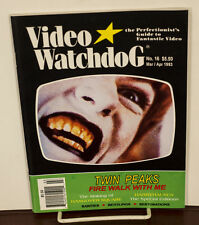 VIDEO WATCHDOG ISSUE #16 TWIN PEAKS NM/MINT