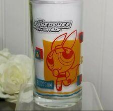 Rare Powerpuff Girls Blossom Cartoon Network Lucky Drinking 1 Glass Ppg Glasses