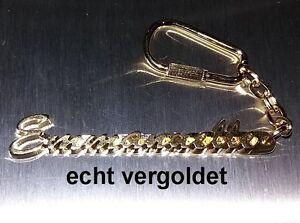 100% QualitäT Edler SchlÜsselanhÄnger Emmanuelle Vergoldet Gold Name Keychain Geschenk Reichhaltiges Angebot Und Schnelle Lieferung Sonstige Luxus-accessoires
