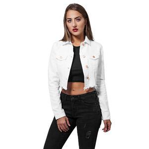 Urban Classics Ladies Short Biker Jacket Giacca Donna