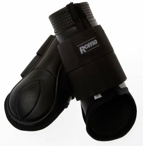 Roma Form Fit Hind Boots with Waffle Neoprene Lining and Molded Plate