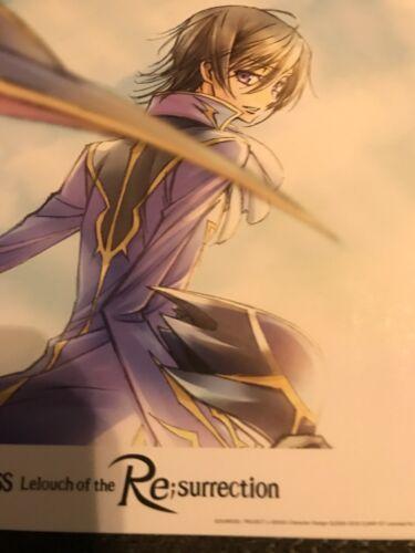 "Code Geass Lelouch of the Resurrection Promo Art Mini Poster Postcard New 5x7"""