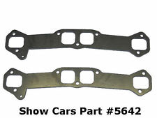 """65,64,63 62 61 60 59 58 CHEVY IMPALA 348 409 EXHAUST 3/8 HEADER FLANGES 2"""" TUBE"""