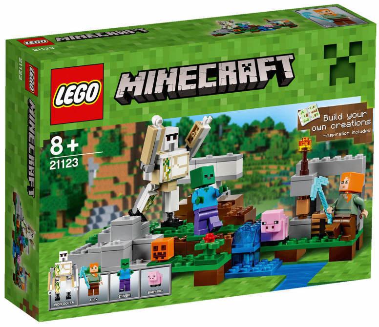 NEUF LEGO ® Minecraft ® 21123-le fer Golem NOUVEAU & OVP baby pig Alex pioche