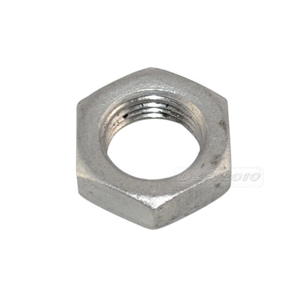 "1/2"" Lock Nut Stainless Steel 304 O-Ring Groove Pipe Fitting Lock Nut BSPT NEW"