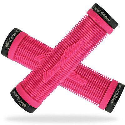 Pink Lizard Skins Charger Lock-On MTB Mountain Bike Grips