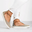 Womens-Summer-T-Strap-Pumps-Flat-Sandals-Ankle-Buckle-Casual-Beach-Shoes-Size thumbnail 8