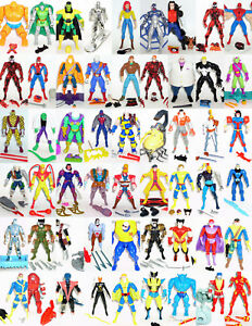 Toy-Biz-Marvel-Action-Figures-CHOICE-Spider-Man-X-MEN-Fantastic-Four-X-FORCE