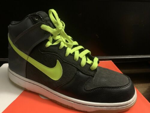 Nike Dunk High 6.0 Size 11 Lime Green