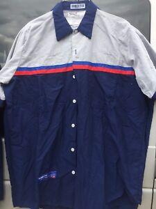55a75e31a6 Red Kap Ford Technician Auto Mechanic Work Short Sleeve Shirt | eBay