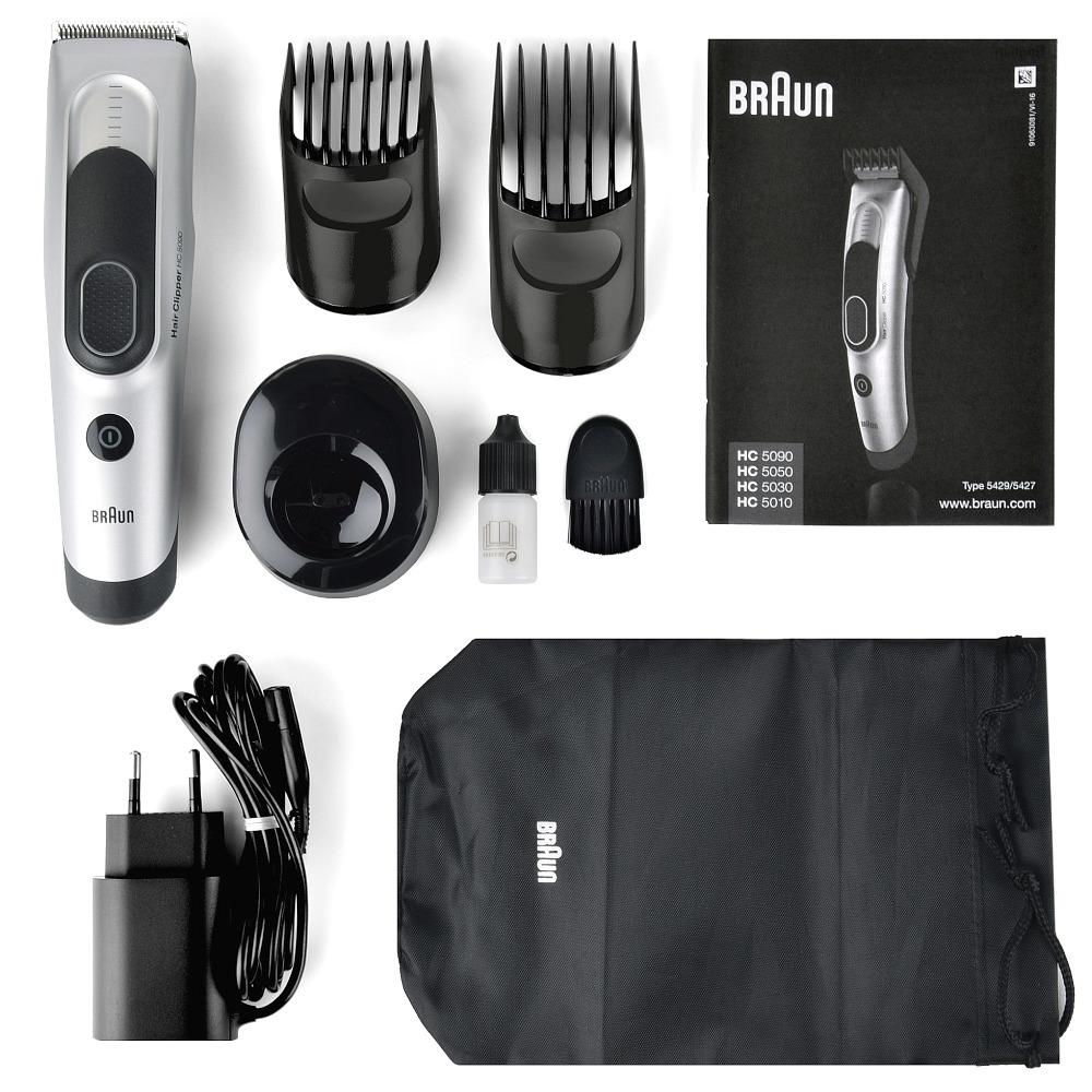 BRAUN HC5090 Haarschneider Haarschneidemaschine Bart Trimmer AkkuNetz 17 Längen