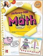 My Math Grade K, Vol. 1 (ELEMENTARY MATH CONNECTS)