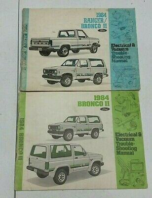 [ANLQ_8698]  1984 Ford Ranger / Bronco II Electric WIRING DIAGRAM Manuals | eBay | 1984 Ranger Wiring Diagram |  | eBay