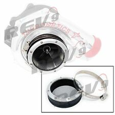 3″ REV9 Turbo Turbine Trim Inlet Grill Filter Turbo Protector Guard w/ Clamp ...