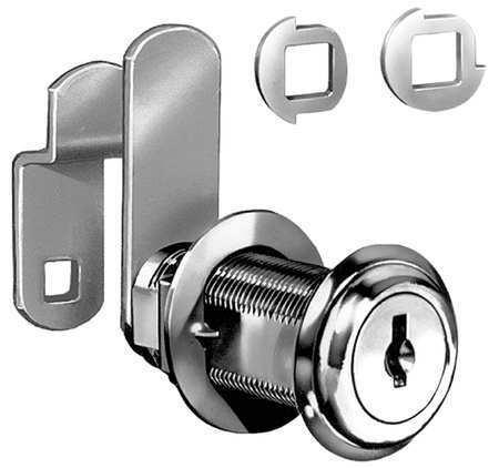 Compx National C8060-C346a-3 Standard Keyed Cam Lock, Key C346a
