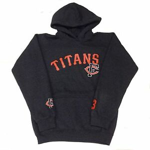 Kid-039-s-TITANS-FC-48-Pullover-Hoodie-Gray-Large-L