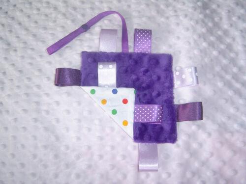idéal pour sortir et environ Mini Minky TAGGY couvertures différents styles disponibles.