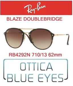 925c84bcd0 Occhiali da Sole RAY BAN SUNGLASSES RB 4292N 710 13 BLAZE DOUBLE ...