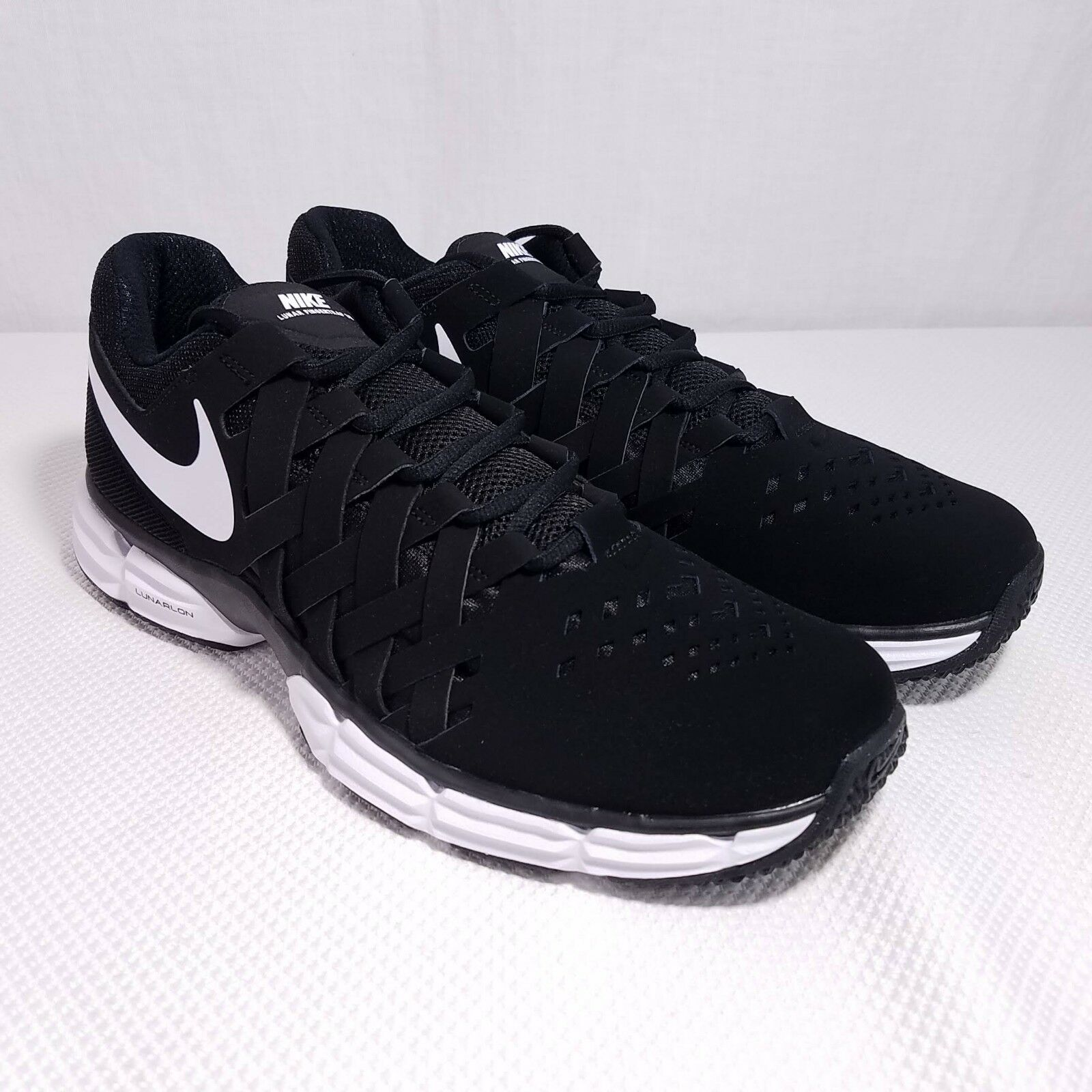 Nike Lunar Fingertrap TR Trainer Gym schuhe Gameday 898066 001 US 12 4E Wide