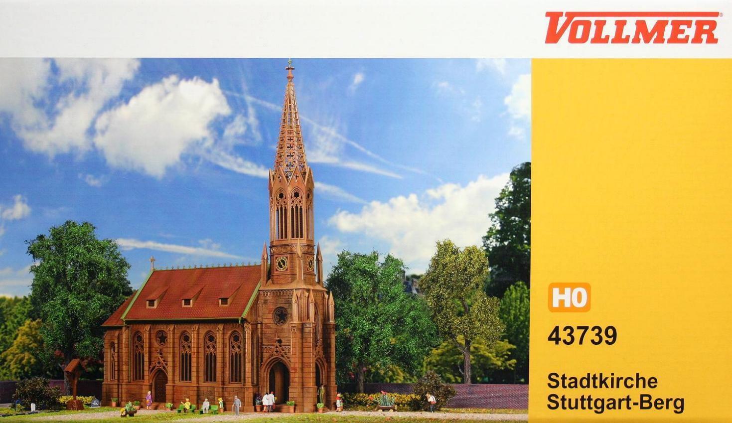 Vollmer 43739 ( 3739 ) H0  Stadtkirche Stuttgart Berg NEU und OvP  | Ideales Geschenk für alle Gelegenheiten