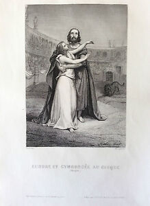 Eudore-and-Cymodocee-choose-Circus-Engraving-1863
