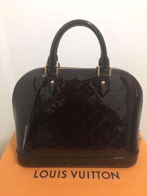 Louis Vuitton Vernis Alma Pm M90062 859 For Sale Online Ebay