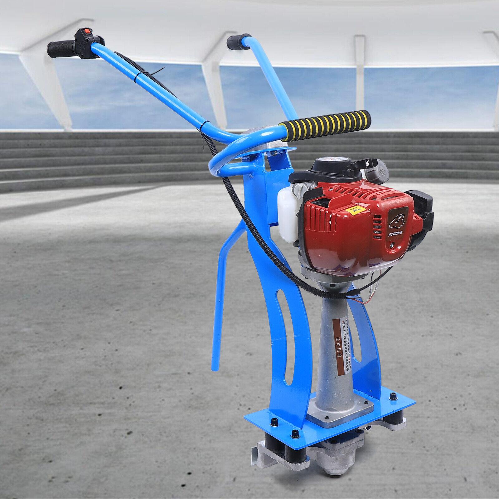 4Takt 900W Beton Vibrationsmaschine Zement Vibrator Estrich Dicke Stahlplatte