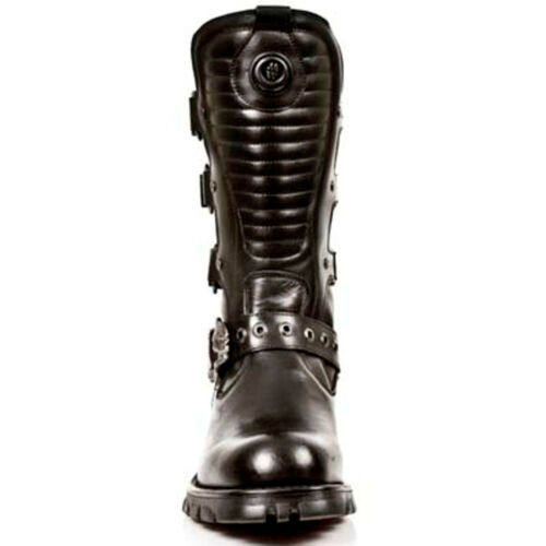 New Rock Boots Mens Style 7604 S1 black