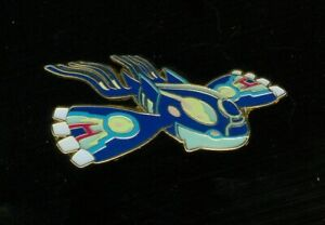 Pokemon PRIMAL KYOGRE - COLLECTOR'S PIN (Release date: February 2015) - NEW