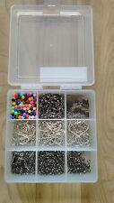 Sea Fishing Tackle Set-Makes up to 100+Rigs Swivels Beads BAITHOLDER HOOKS +++++