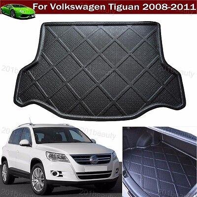 Car Boot Pad Cargo Mat Rear Trunk Liner Tray Floor Mat For VW Tiguan 2008-2011