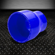 """VMS RACING 3 PLY REINFORCED SILICONE 90˚ COUPLER 4/"""" BLUE"""