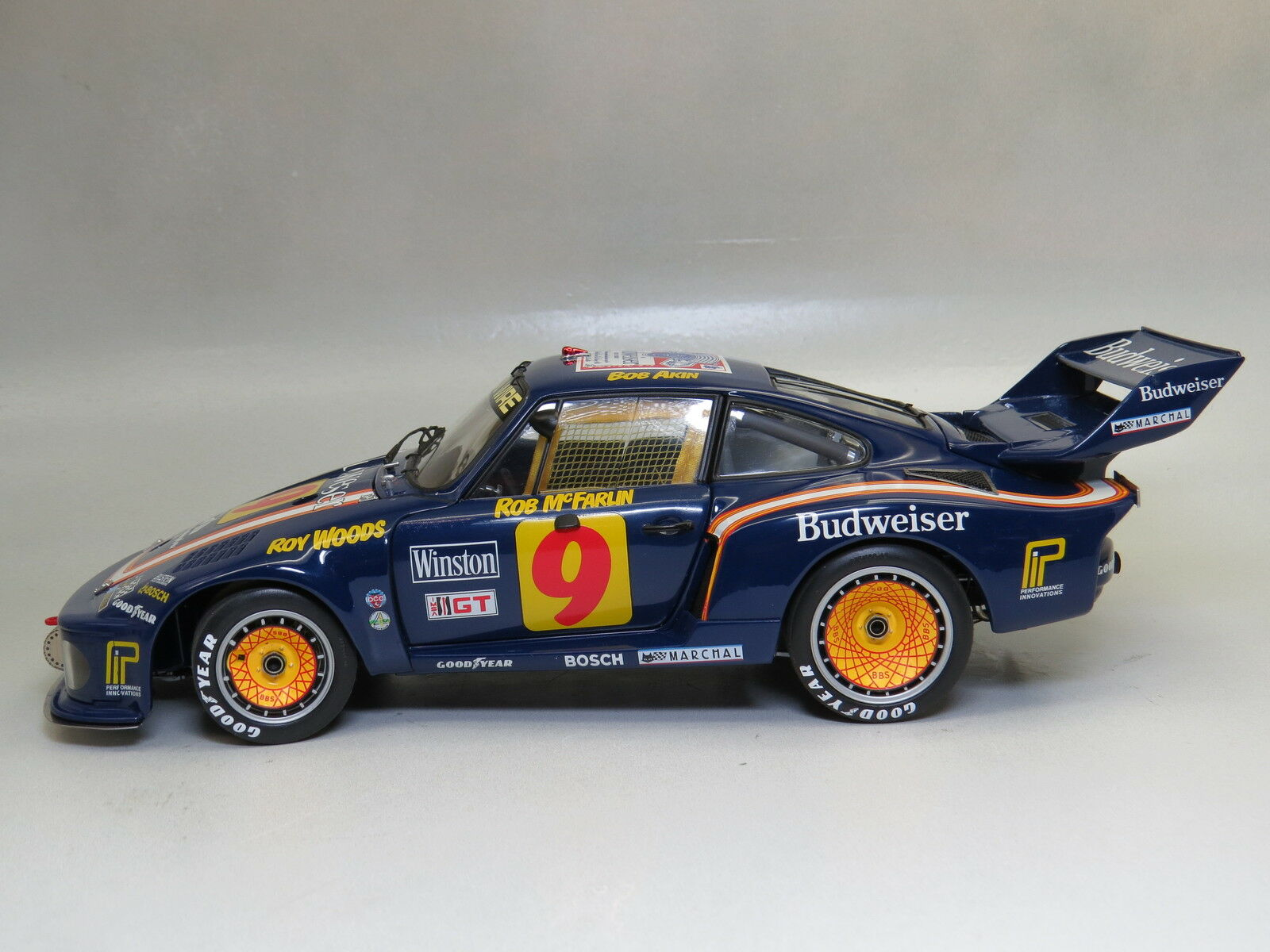 Porsche 1 18 EXOTO Winner , Sebring 12 Hours Driven by Akin McFarlin Woods Rare