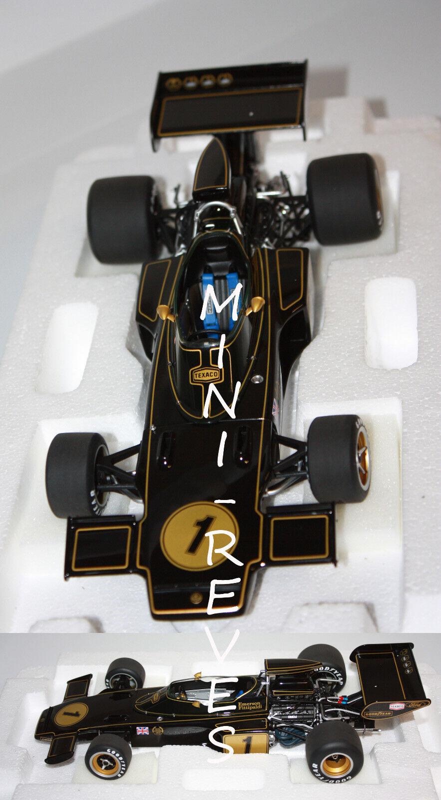 Autoart F1 Lotus 72e 1973 E.Fittipaldi 1973 1 18 87327 3